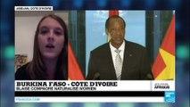 Côte d'Ivoire : Blaise Compaoré obtient la nationalité ivoirienne, et ne peut plus être extradé au Burkina-Faso