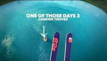 Une spectaculaire descente en freeride filmée en POV avec Candide Thovex