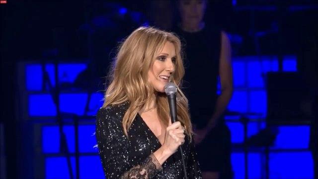 Céline Dion, de retour sur scène rend un hommage très touchant à son mari René