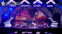 Karizma Krew dance troupe - Britain's Got Talent 2012 Live Semi Final - UK version