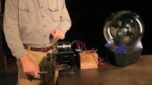 Gray Matter: Powering a Plasma Ball With a Regenerative Braking System