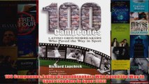 Download PDF  100 Campeones Latino Groundbreakers Who Paved the Way in Sport Leaders in Sport Fit FULL FREE
