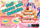 Pony Princess Cake Decoration - My Little Pony Game - My Little Pony CakeGame For Girls