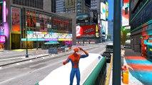 SPECIALE DE NOËL ❄ SPIDERMAN fait la course avec le Père Noël dans un traîneau ❄ Gameplay