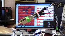 Un batteur à 3 bras grâce à la robotique