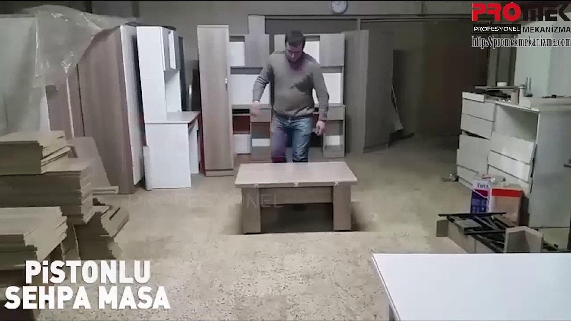 Pistonlu Sehpa Sehpa Mekanizmasi