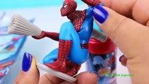 Juguetes Burbujas y Huevos Sorpresa de el Hombre Araña | Spiderman Bubbles and Surprise Eggs