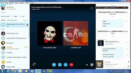 Skype Şakaları - Testere Başkan #1
