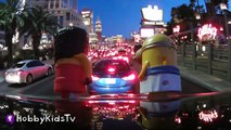 Minions VACATION Road Trip! McDonalds Happy Meal Surprise Toys + Hulk HobbyKidsTV