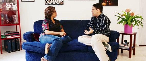 """""""Boca de Cena"""" convida Marcia Zanelatto com Gabriel Borges (E02 T01)"""
