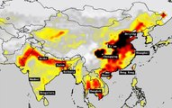 As seen from space How India has overtaken China for polluted air