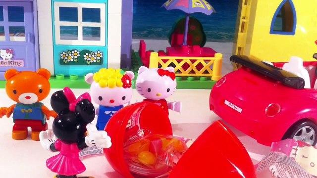 Egg Surprise Disney Collector Hello Kitty Surprise Eggs Peppa Pig surprise eggs by DTC Disney Toys