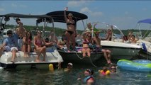 Pro Men Final at the Branson Pro Wakeboard Tour Stop- King of Wake
