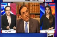 Zardari statement was 100% from him - Dr Shahid Masood also joke about inquiry to be done from UN of Zardari statement