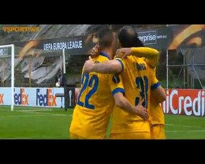 Amazing Goal Theofanis Gekas - Braga 0-1 Sion (24.02.2016) Europa League  1/16 FINAL