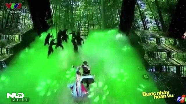 """Chia sẻ Thưởng thức bước nhảy của """"nữ hoàng khiêu vũ"""" Ninh Dương Lan Ngọc"""