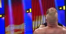 Fastlane 2016 Dean Ambrose vs Brock Lesnar vs Roman Reigns Highlights february