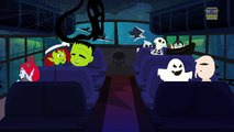 Wheels On The Bus | Nursery Rhymes For Children | Scary Bus Rhymes