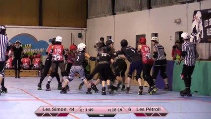 HD Les Simones VS Les Pétrolleuses 1ere mi-temps