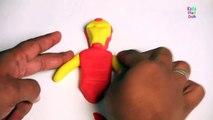 Play Doh Iron Man | Iron Man | How To Make Iron Man | Iron Man Toys