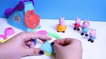 Peppa Pig Play Doh Fun Factory Machine Peppas Dough Set Hasbro Toys Juguetes de Plastilina
