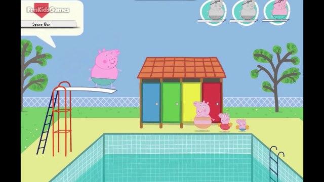 Peppa Pig Games - Daddy Pigs Big Splash | Peppa Pig English Episodes for Kids