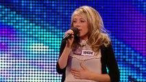 Paige Turley Skinny Love - Britain's Got Talent 2012 audition - International version