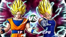 Super Saiyan 2 Goku VS Majin Vegeta - Goku Takes Things Too Far! (Dragon Ball Z: Raging Blast 2)