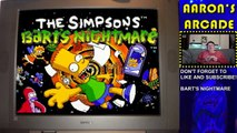 Aarons Arcade - The Simpsons Barts Nightmare Game Review