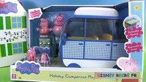 Peppa Pig Camping Car de Vacances Jouet Holiday Campervan Playset