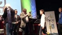 Les jeunes du HVB M13 récompensés aux trophées du sport harnésien (Harnes TV 02-02-2016)