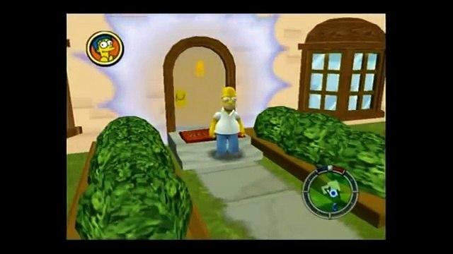 The Simpsons: Hit & Run - Level 1: Part 1: Im Homer J Simpson! 100% (01)