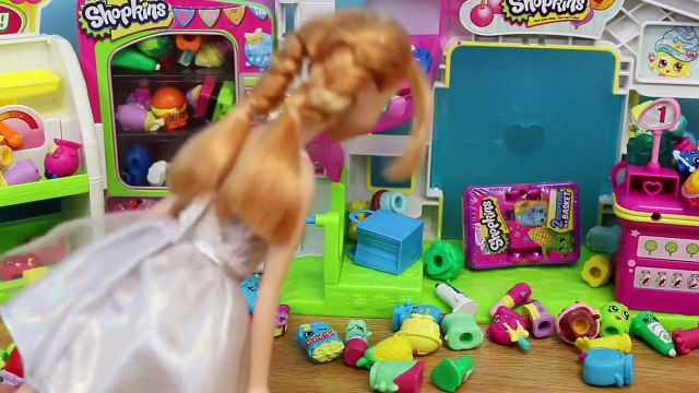Frozen Elsa Shopkins Season 2 Disney Frozen Kids Alex Shopping for Surprise Shopkins Toys