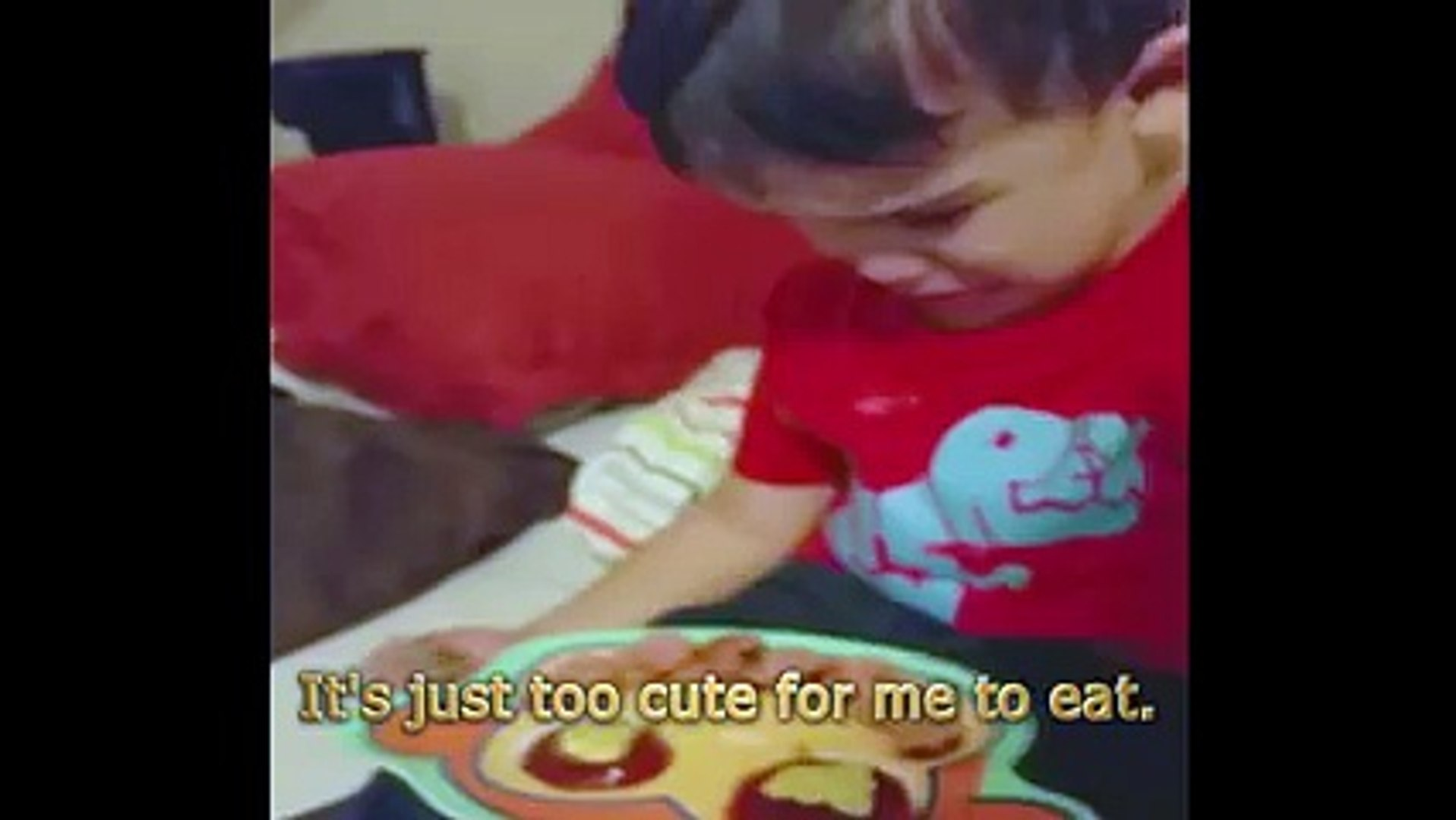 America's Funniest Videos - Cute kid dont want his cute cake