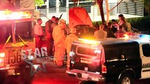 Actor Paul Walkers accident and death scene in Santa Clarita, CA.
