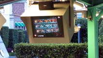 Back to the Future - The Ride Queue Video.In Japanese! At Universal Studios, Osaka, Japan