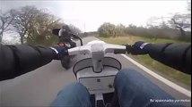 Humiliation d'un motard
