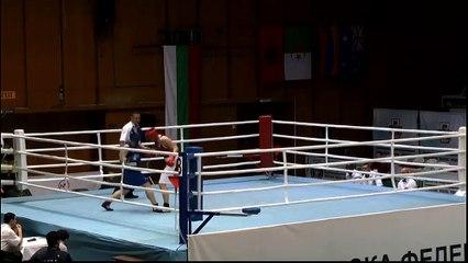 Highlights : Erika GUERRIER (FRA) vs Shinhyeong KIM (KOR) - 75kg - STRANDJA CUP (Tour préliminaire 2)