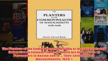 Download PDF  The Planters of the Commonwealth A Study of the Emigrants and Emigration in Colonial FULL FREE