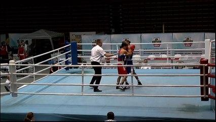 Highlights : Almasbek ALIBEKOV (KAZ) vs Hassan AMZILE (FRA) - 64kg - STRANDJA CUP (Tour préliminaire 2)