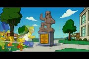 Les simpsons - Mega Gag du canapé (à lenvers)