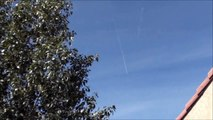 EXTREME CHEMTRAILS, Chemtrail X marks the spot over PHOENIX - SKY WATCHING ARIZONA 3-19-2013