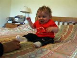 BABY LAUGHING- THE FUNNIEST BABY LAUGH HAHA ! (In my view)