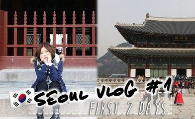 SEOUL VLOG #1 | Gyeongbokgung and Reunited with Kat!