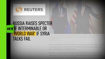 What Medvedev never said: Reuters misquotes Russian PM on 'new world war'