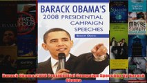 Download PDF  Barack Obama2008 Presidential Campaign Speeches By Barack Obama FULL FREE