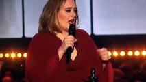 Discours d'Adele lors des Brit awards