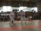 Championnat Judo France 2D -63kg Place 3 Percheron-Louchez