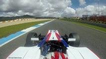 Vivez un tour de voiture de course embarqué sur le circuit d'Estoril!