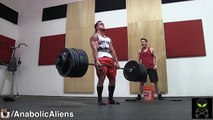 15 years old max deadlift 308 lbs - video dailymotion